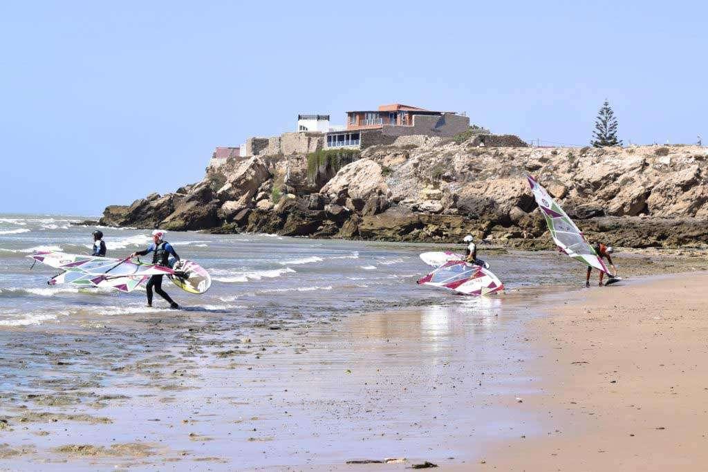 Moulay Bouzerktoune Windsurf