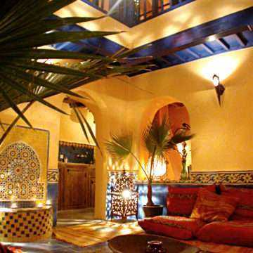 Riad in the Medina