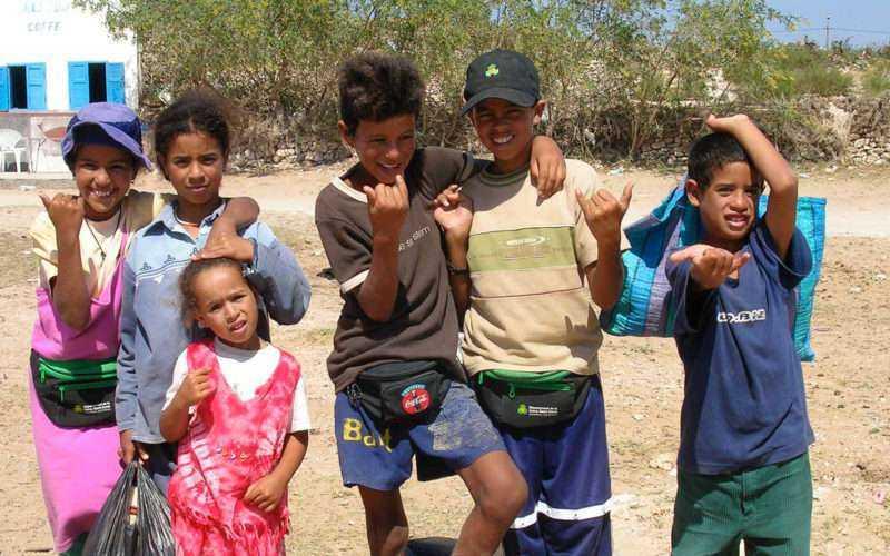 The children of the village