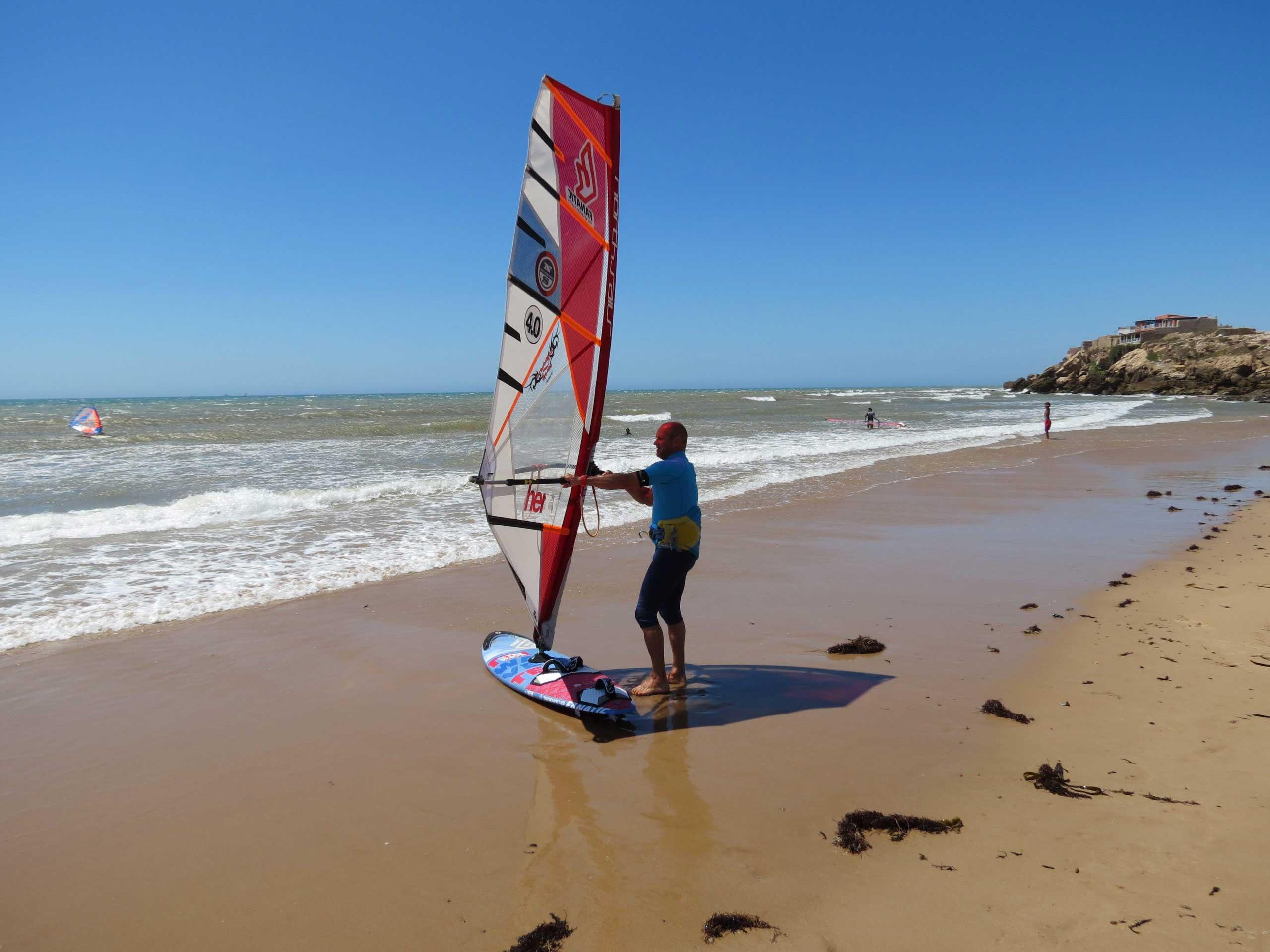 windsurf Moulay Bouzerktoun
